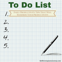 Daily Productivity Tips That Will Maximize Your Productivity
