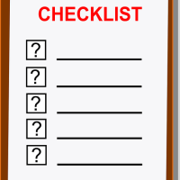 Daily Habits Checklist for 2016