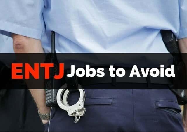 ENTJ Jobs to Avoid Police Officer